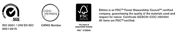Ethimo is an FSC certified company