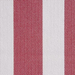 Acrilico Wide Stripes Red/White