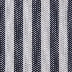 Acrilico Thin Stripes Blue Navy/White Piping Blue Navy