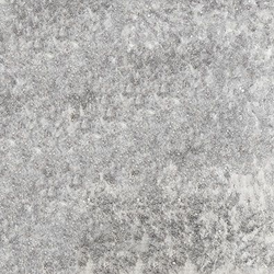 Pietra lavica smaltata Opaque White