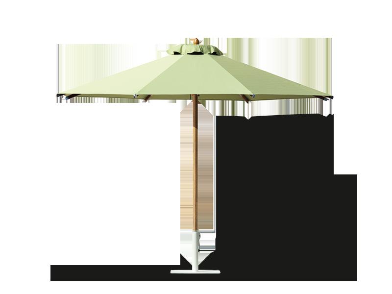 Ombrellone rotondo a palo centrale classic ombrelloni da for Ombrelloni da esterno ikea
