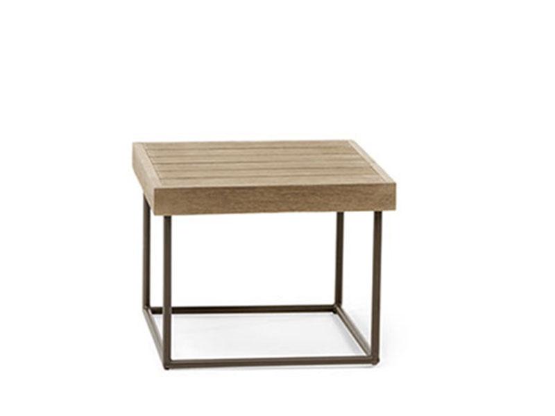 Ethimo Allaperto Urban tavolo basso 50x50