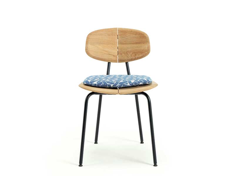 Ethimo Cuscino per sedia in teak naturale