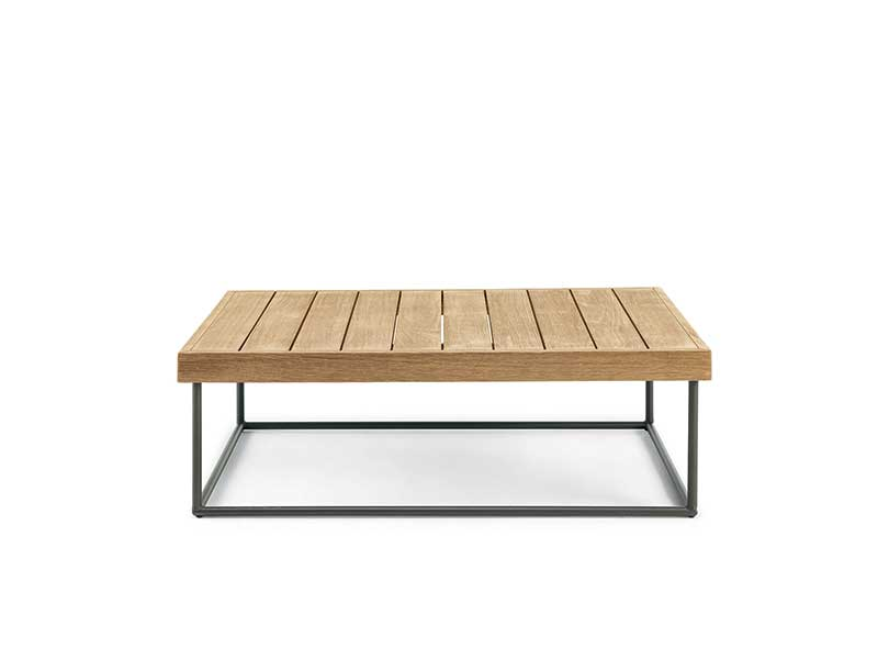 Ethimo Allaperto Mountain / <small>Tartan</small> tavolino rettangolare
