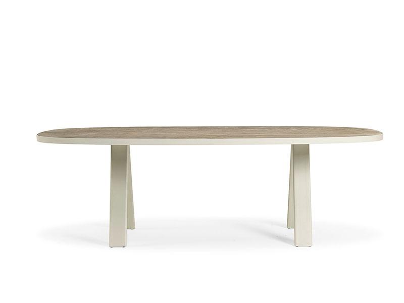 Ethimo Esedra tavolino basso ovale