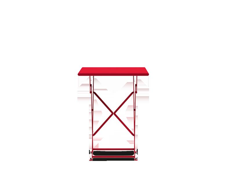 Ethimo Flower tavolo rettangolare 55x70cm