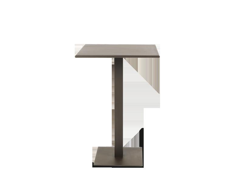 Ethimo Flower tavolo quadrato alto 70x70cm