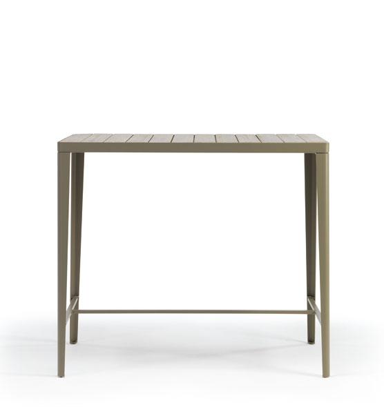 Laren – Tavolo alto 120x60 - Tavolo alto con piano in teak Ethimo