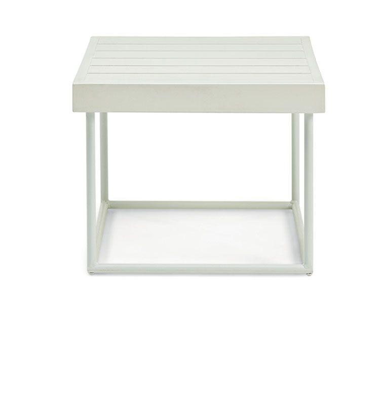 Allaperto Grand Hotel / <small>Etwick</small> – Coffee table quadrato - Tavolino basso 50x50 Ethimo