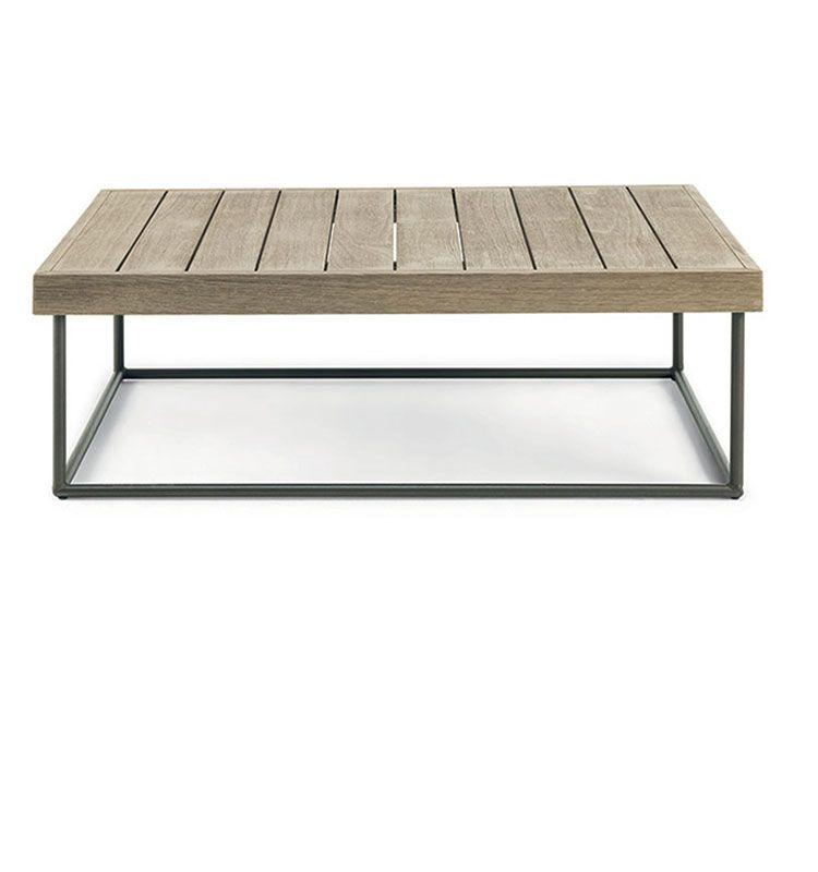 Allaperto Urban – Coffee table rettangolare - Tavolino da esterno 70x100 Ethimo