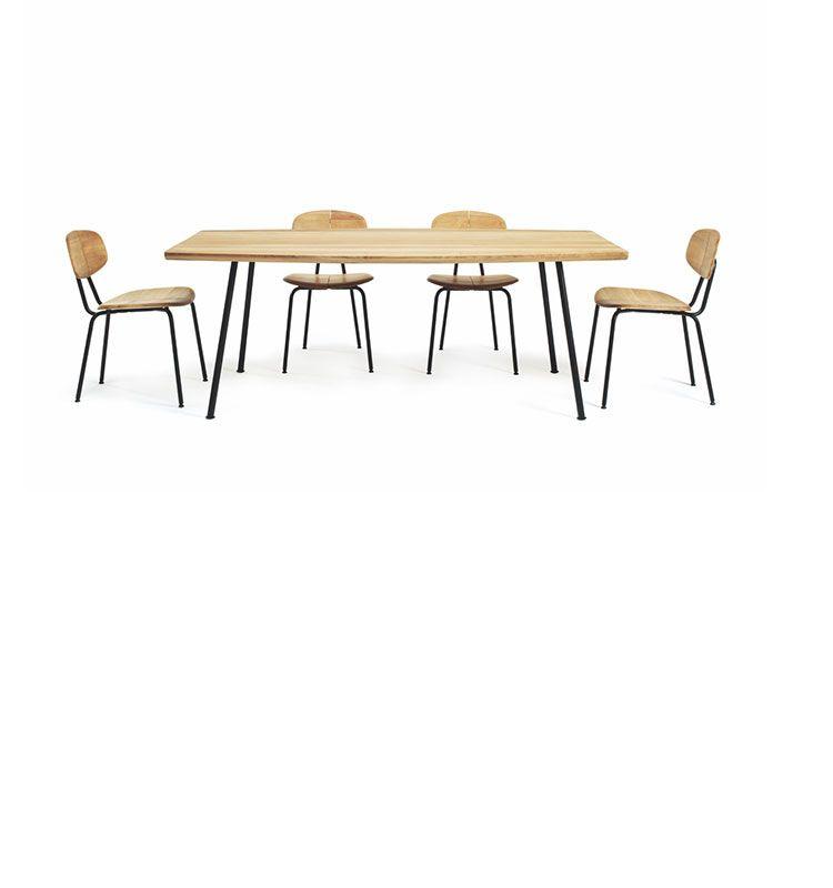 Agave – Tavolo rettangolare dining - Tavolo in teak naturale 200x100 Ethimo