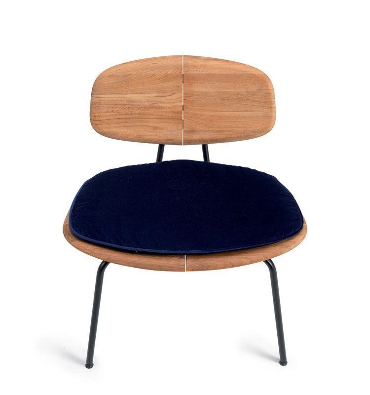 Agave – Cuscino sagomato per sedia lounge - Cuscino per sedia Agave Ethimo