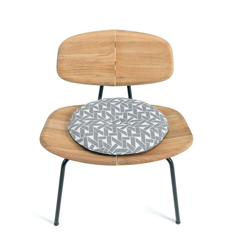 Agave – Cuscino per sedia lounge - Cuscino rotondo Ethimo