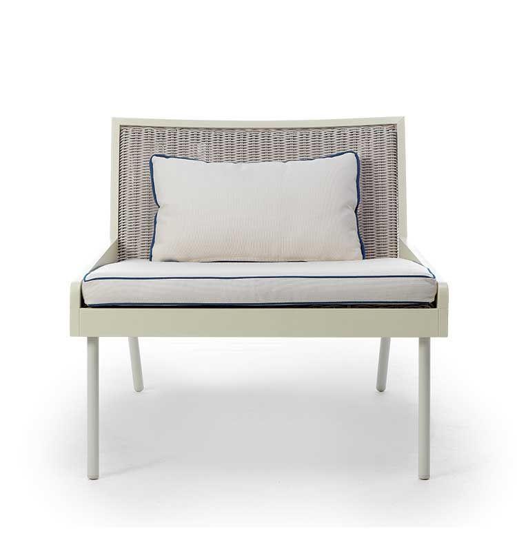 Allaperto Grand Hotel / <small>Etwick</small> – Poltrona lounge - Poltrona lounge in metallo Ethimo