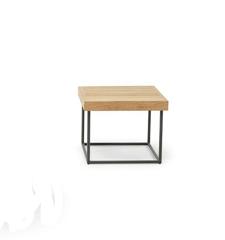 Allaperto Veranda - Tavolo basso 50x50 - Tavolino in teak 50x50 Ethimo