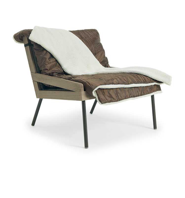 Allaperto Mountain / <small>Etwick</small> – Poltrona lounge - Poltrona da esterno Ethimo