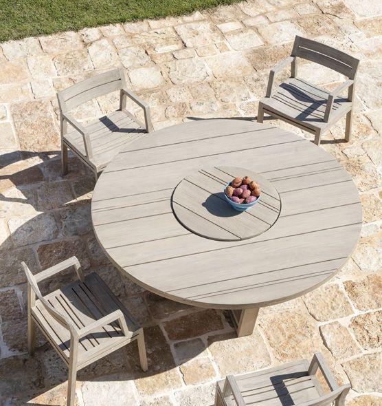 Costes – Poltroncina dining - Poltroncina da giardino con braccioli Ethimo