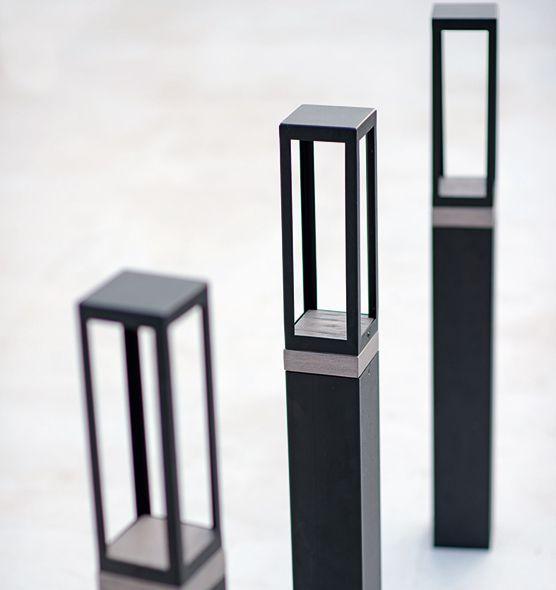 Carrè – palina - Palina per illuminazione da giardino<br> Ethimo