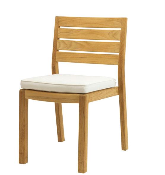 Cuscino per sedie in teak Classic | Cuscini sedute da esterno ...