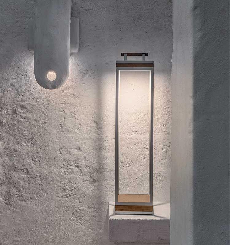 Carrè – Lampada da terra XL - Illuminazione da terra per esterni Ethimo