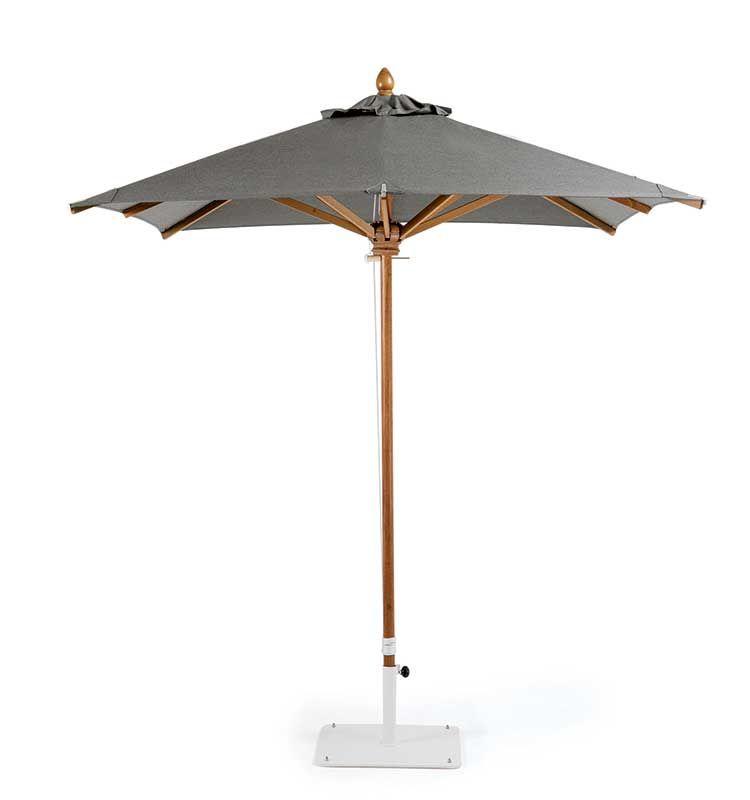 Classic – Ombrellone 2,2x2,2 m - Ombrellone quadrato con palo centrale Ethimo