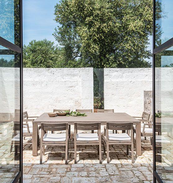 Costes – Tavolo 240x160 cm - Tavolo da giardino in teak Ethimo