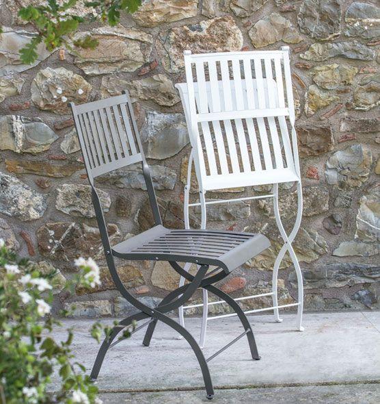 Elisir – Sedia pieghevole - Sedia da giardino in metallo Ethimo