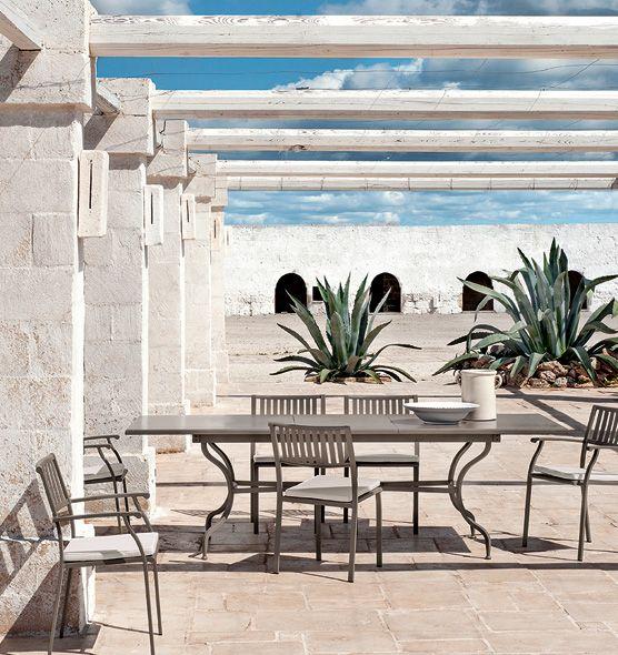 Tavolo rettangolare Elisir - tavolo rettangolare 200-260x100cm Ethimo