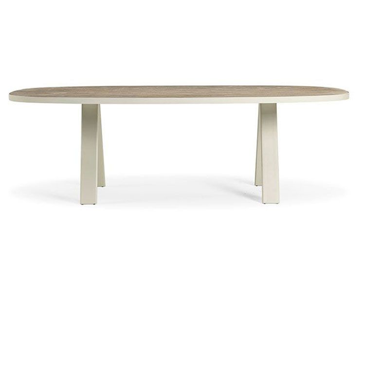 esedra oval coffee table - tavolino basso ovale 160x80. Ethimo