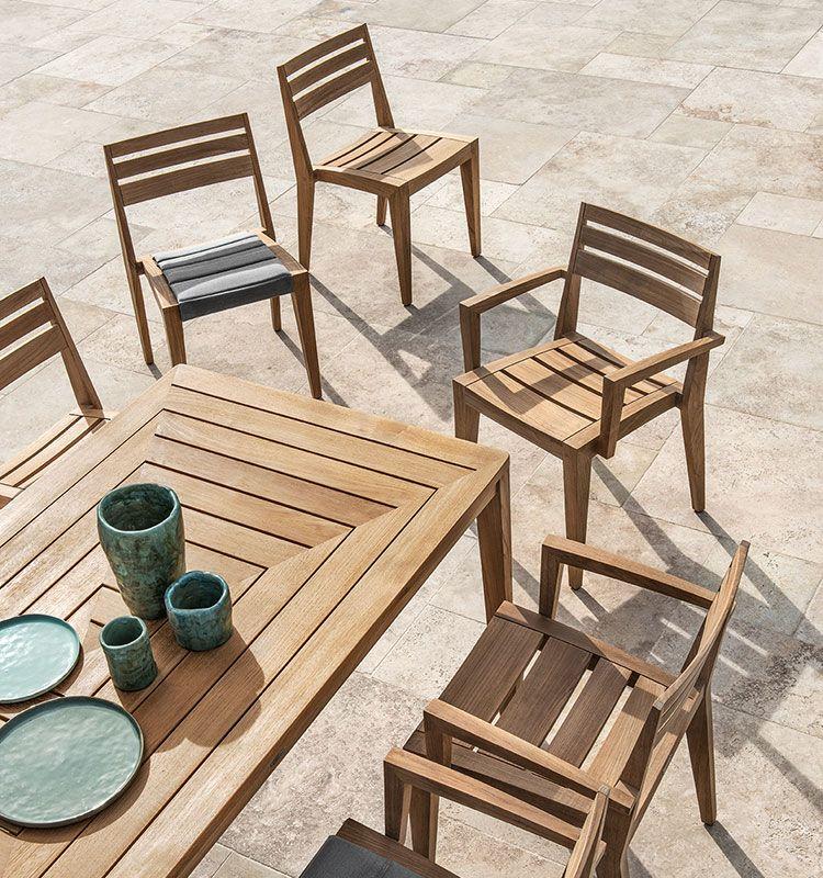 Friends – Tavolo rettangolare - tavolo da giardino rettangolare Ethimo