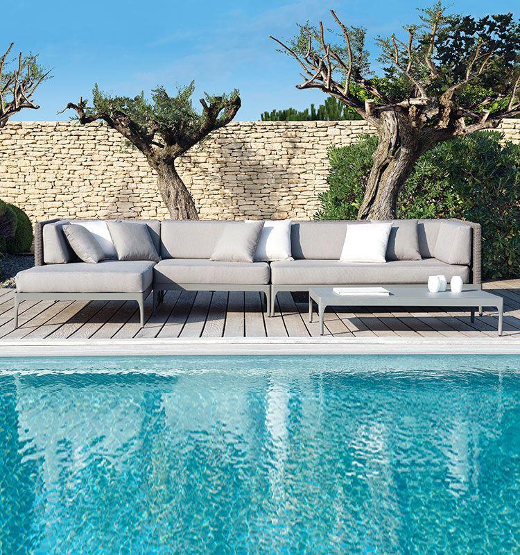 Infinity – Modulo centrale per divano modulare - Modulo centrale Ethimo