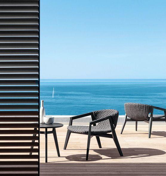 Knit - Poltrona lounge - Poltrona da giardino Ethimo