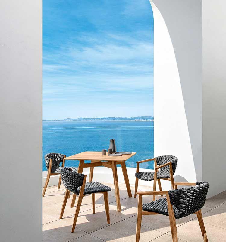 Knit – Poltrona lounge - Poltrona da giardino Ethimo