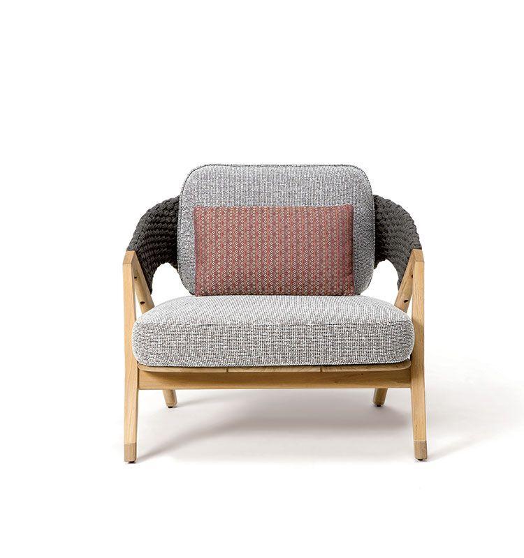 Knit cuscino lombare per poltrona - cuscino decorativo Ethimo