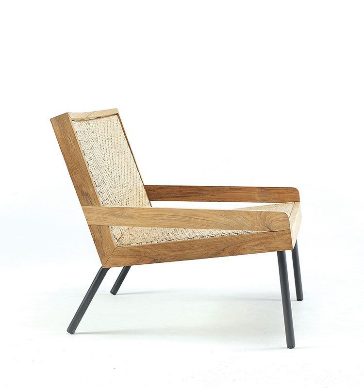 Allaperto Veranda - Poltrona lounge - Poltrona lounge in teak Ethimo