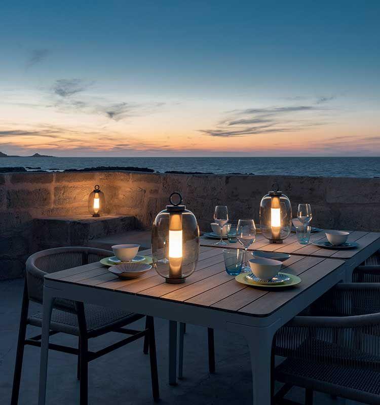 Lucerna – Lampada a Led - Lampada da tavolo Ethimo