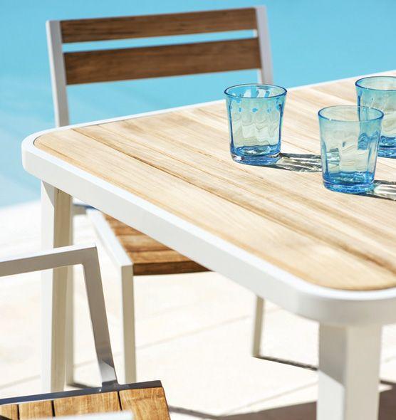 Tavolo elegante rettangolare Meridien - tavolo per outdoor Ethimo