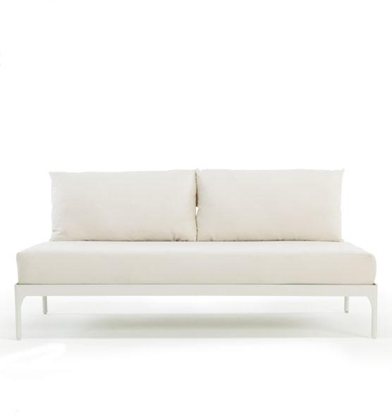 Modulo centrale XL per divano Meridien - Modulo ExtraLarge per la composizione di divani da esterno Ethimo