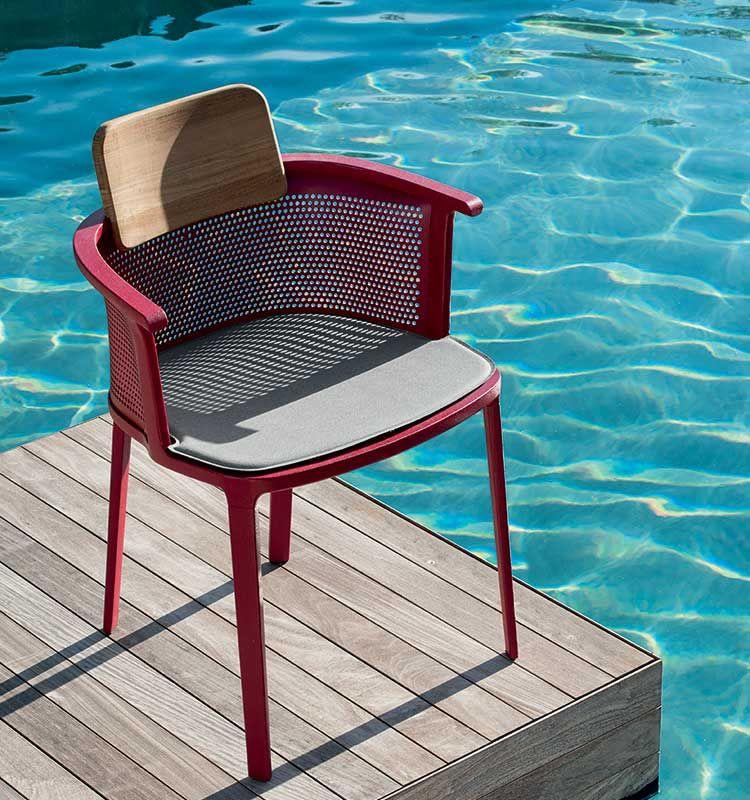 Nicolette – Cuscino per poltrona - cuscino in acrilico da seduta Ethimo