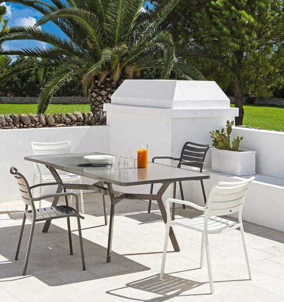 Poltroncina dining Ocean - poltroncina in alluminio per giardino Ethimo