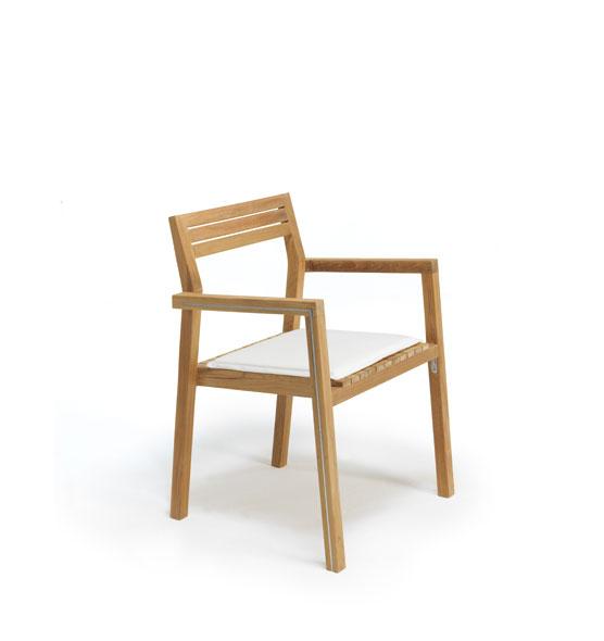 Sedie Da Giardino In Teck.Cuscino Acrilico Per Sedie Da Esterno In Teak Cuscini Da Esterno