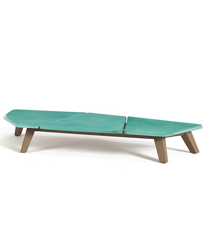 Rafael - Tavolo basso 70x170 - Tavolino da giardino in teak Ethimo