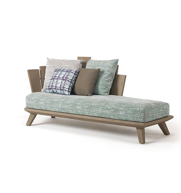 Rafael - daybed - Daybed in teak Ethimo