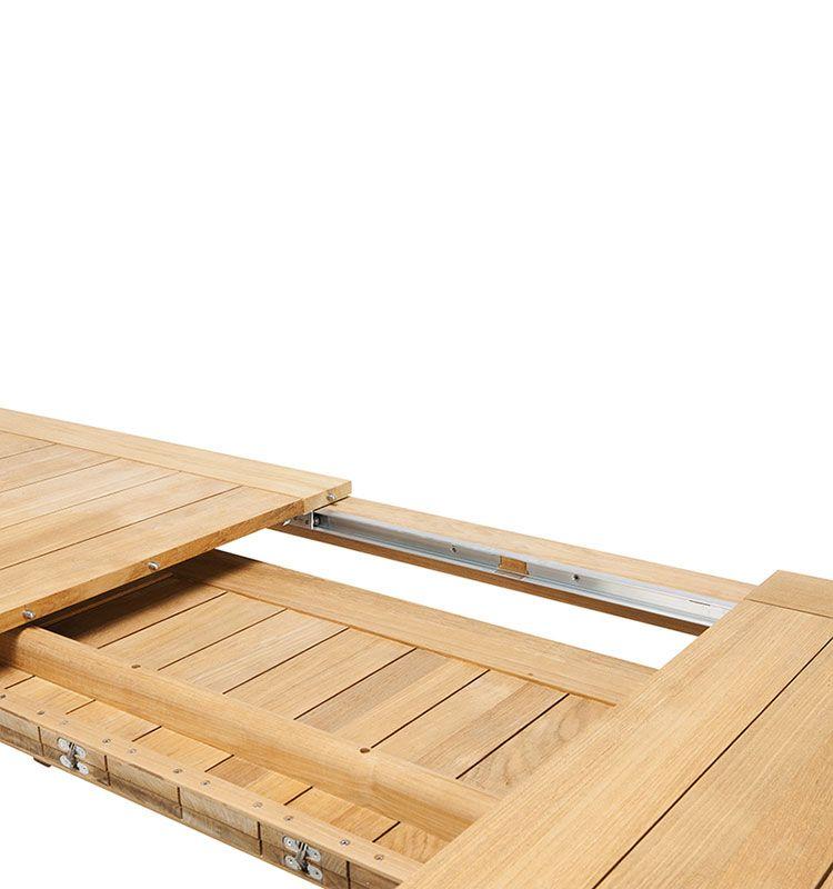 Ribot - Tavolo allungabile - Tavolo da giardino in teak naturale Ethimo