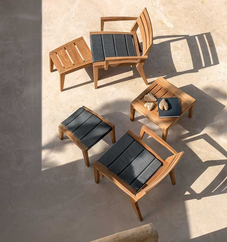 Ribot – Cuscino per sedie - Ribot cuscino per sedie Ethimo