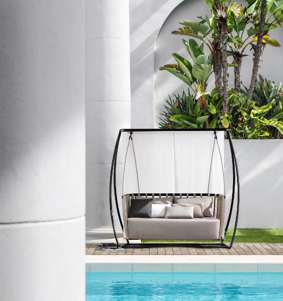 Swing – Dondolo a baldacchino - Dondolo da giardino Ethimo