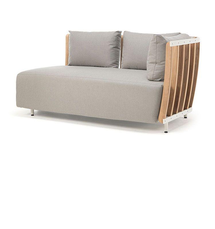 Swing – Modulo finale - Modulo finale per divano modulare Swing Ethimo