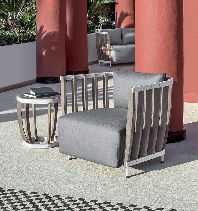 Swing – Poltrona in teak e alluminio - Poltrona da giardino Ethimo