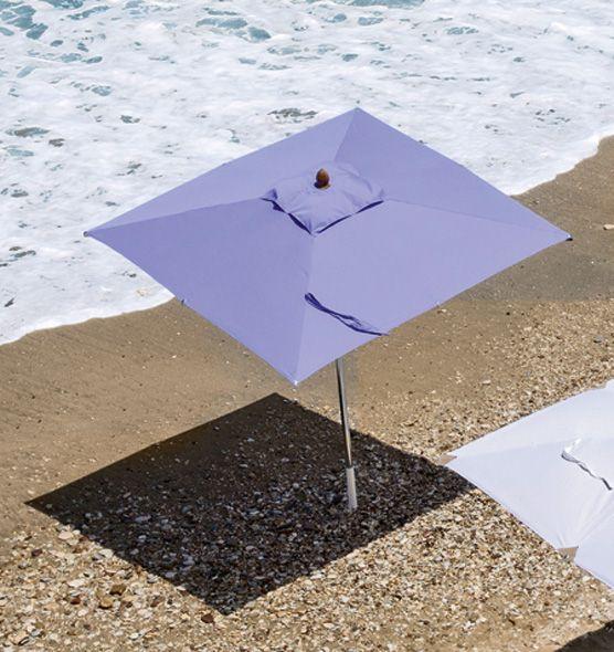 Free – ombrellone quadrato - Ombrelloni con palo centrale, 2,2x2,2m Ethimo