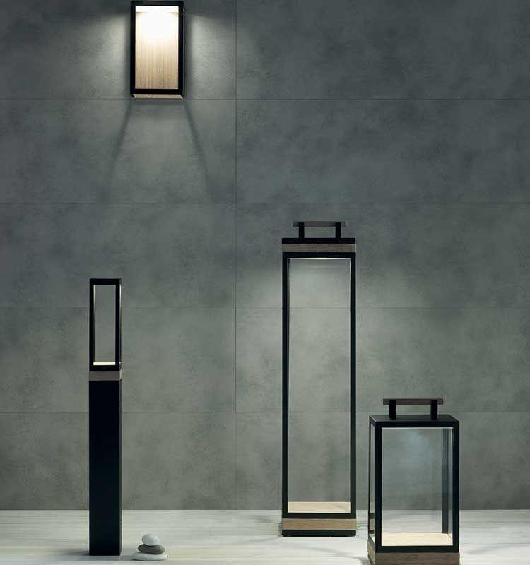 Carrè – Applique per esterni - Lampada da muro Ethimo
